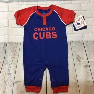 Genuine Merchandise Chicago Cubs Baby Coverall NWT